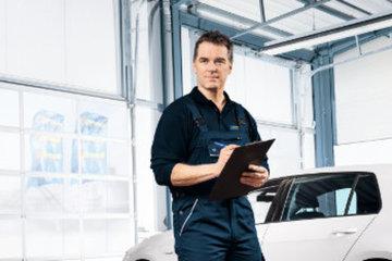 Autoservice nach Herstellerangaben